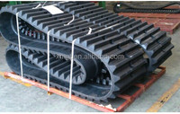 XMGT sale rubber track 300*109*40W for SK027-1 , rubber track shoe assembly
