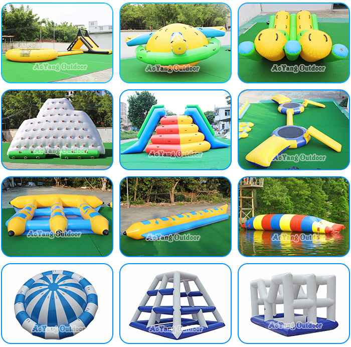 Beach Team Building Inflatable SUP Paddle Board Polo Field for Football Game
