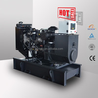 EPA approved 60kw power diesel engine 75kva electric generator set price list