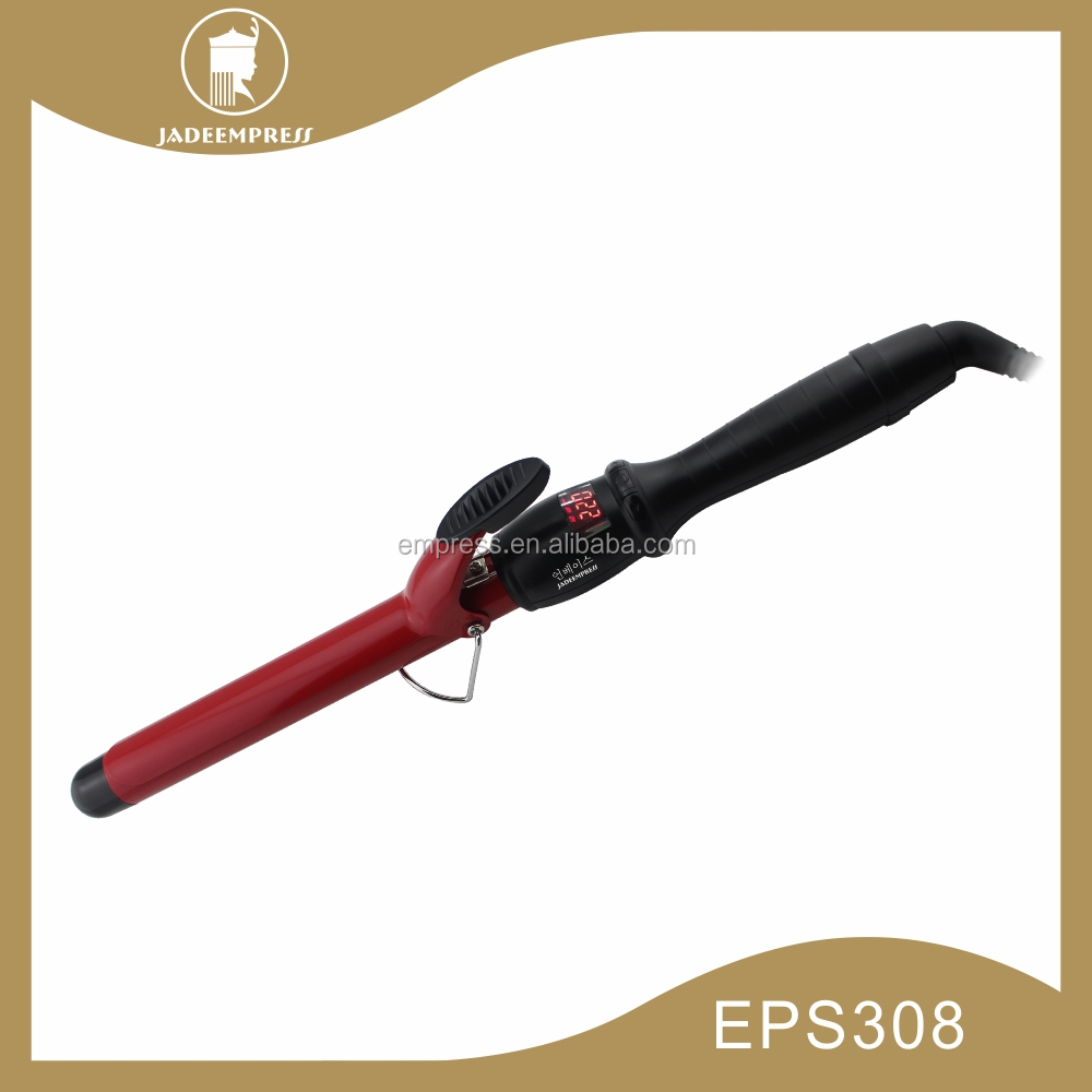 Pro curling wand hot iron curler tools as seen on tv of materials iron perm EPS308