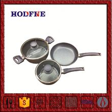 Oem Professional Production Energy-Saving Exquisite Cooking Western Style High-End Antique Two Handle Saucepan