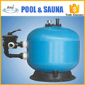 Side-mount rapid sand filter for water well sand filter
