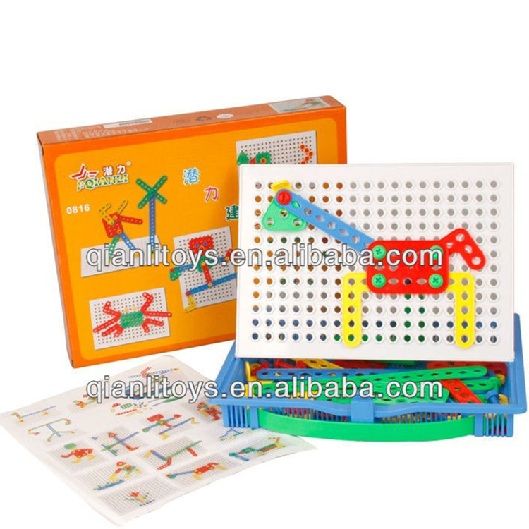 Plastic educational child toy QL-010(C)-7
