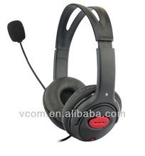Durable Computer Headphone with Rotating Microphone