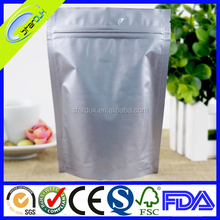 Custom printed ziplock plastic bag/ plastic stand up pouch with zipper/ stand up pouch
