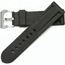 fashion changeable watch strap with custom logo printed rubber silicone watch band