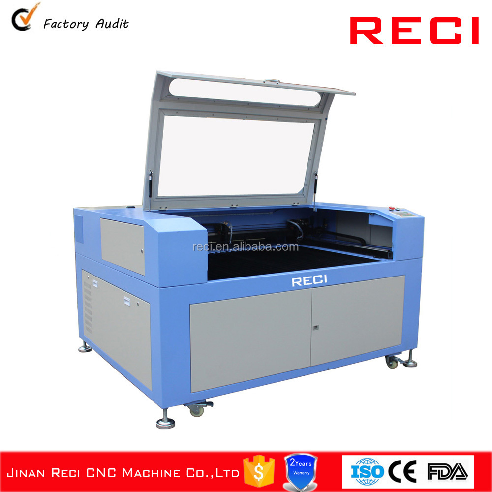 Promotion CO2 laser cutter for plastic wood leather mdf