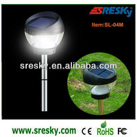 Crystal Ball Solar Lawn And Garden Light Spike Components