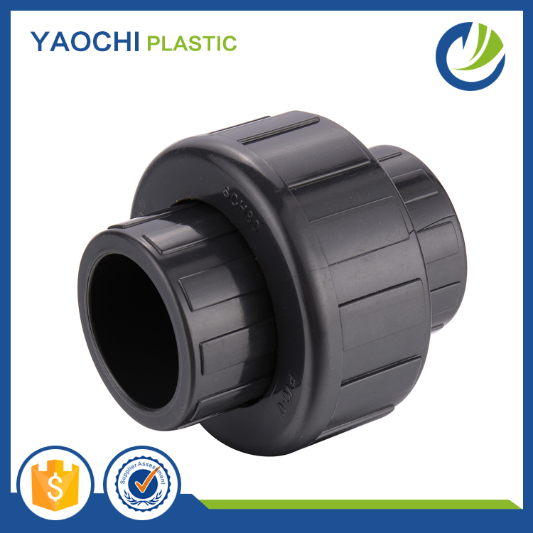 All size available pvc fittings SCH80 standard UPVC union