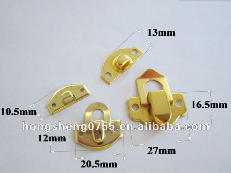 high quality wholesale small metal locks for jewelry box small