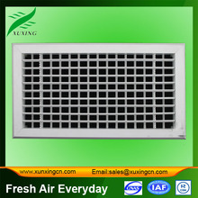 Double deflection plastic ac grill size