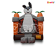 China Commercial Cute Rabbit carrot inflatable jumping bounce house bouncer castle for sale