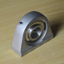 AISI316 bearing coupling plummer block housing units
