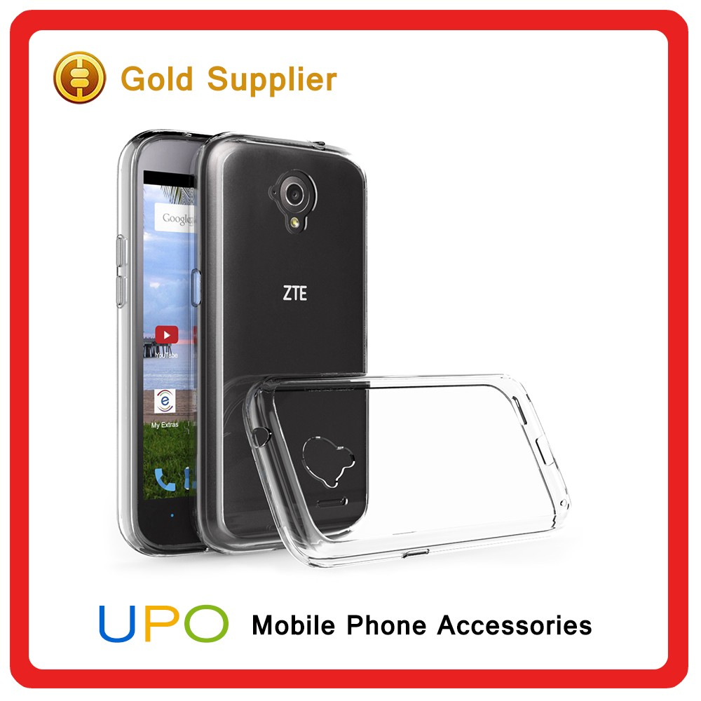 [UPO] Smart Transparent TPU Bumper Acrylic Plastic Hard Back Cover Phone Case for ZTE Allstar LTE Z819