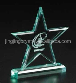 Hot Sale Home Office Decoration Star Crystal Awards And Trophies Made In China