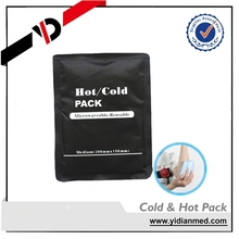 Custom medical jelly ice pack for warm and cold and hot bag
