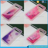 Newest Custom Beauty Glitter Liquid Quicksand Phone Case For Samsung Galaxy Star Advance Sm-g350e