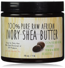 Private Brand Raw African Organic Grade A Ivory Shea Butter for Natural Skin Care, Hair Care