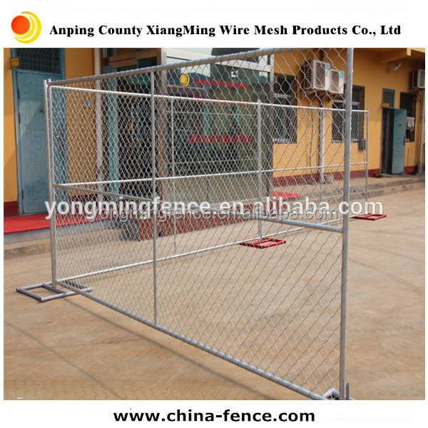 Galvanized and powder coating hook flower fencing, chain link fencing for America