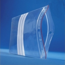 Grip Seal Poly Bags with Write On Panel Wholesale