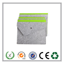 China factory supplier Felt Document Bag Envelop Style Good Quality