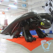 cheap inflatable toothless dragon costume for sale
