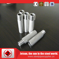 fast delivery high strength tensile 4 inch Tee Nipple/Stainless Steel pipe nipple