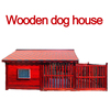 Waterproof outdoor indoor large wooden dog house pet house
