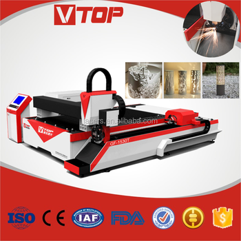 1500mm*3000mm working area 1000watt metal sheet and tube fiber laser cutter with CE FDA