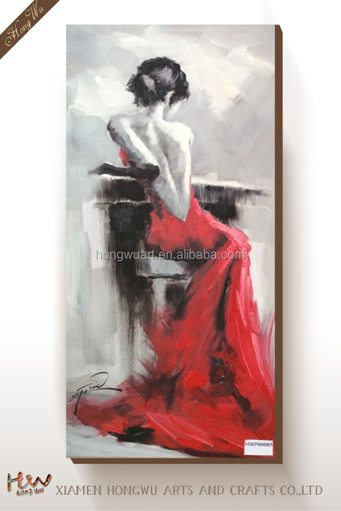 nake girl pictures wall semi-nude art sexy nude woman oil painting