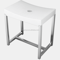wide funtion best quality plastic free standing shower bench , r shower chair TOP SELLING