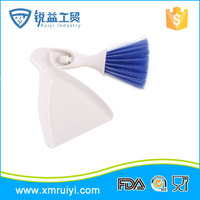 2in1 Mini Car Cleaning Brush Broom Dustpan Set Outlet Vent Flow Air Conditioner Computer Keyboard Cleaner Tool