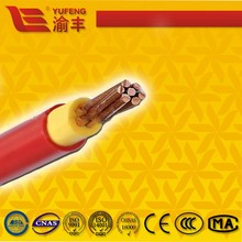 Single core copper conductor light PVC insulated and sheathed power cable
