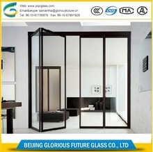 Factory supplier tempered 10mm 12mm laminated glass price