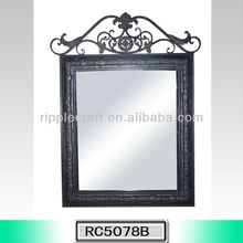 Fantastic Wrought Iron Design Decorative Wall Mirror