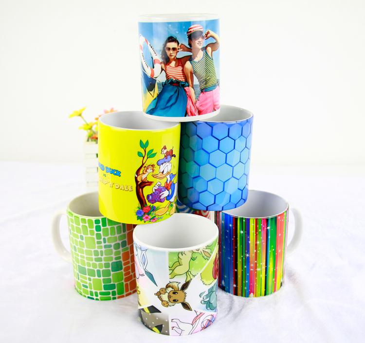 Five Station heat transfer cup printing machine ceramic color changing magic coffee mug printing machine