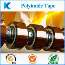 Low static polyimide adhesive tape for touch screen and keyboard