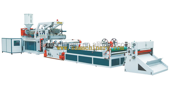 PP PE sheet Extruder plastic production line