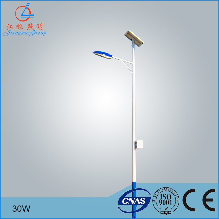 ip 65 solar led street light 25w