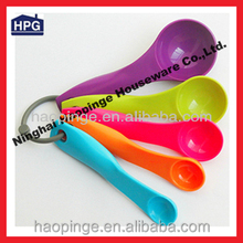 5pcs colorful Plastic Measuring Spoon