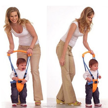 2015 new Belt Moon Baby Walker - Learn To Walk Assistant/Helper - Orange and Blue