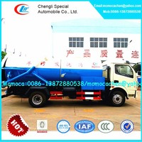 New 6cbm sewage suction and high pressure jetting truck,vacuum and pressure truck 6000L
