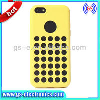 2013 dot hole design for iPhone 5C case , for iphone 5c silicone case official , case for iphone 5c