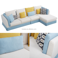 2016 factory comfortable living room sofa corner sofa
