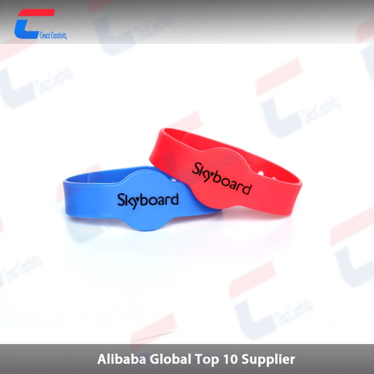 13.56Mhz Silicone Children Kids RFID NFC bracelet for event