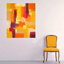 Wholesale Drop Shipping Watercolor Modern Abstract Painting