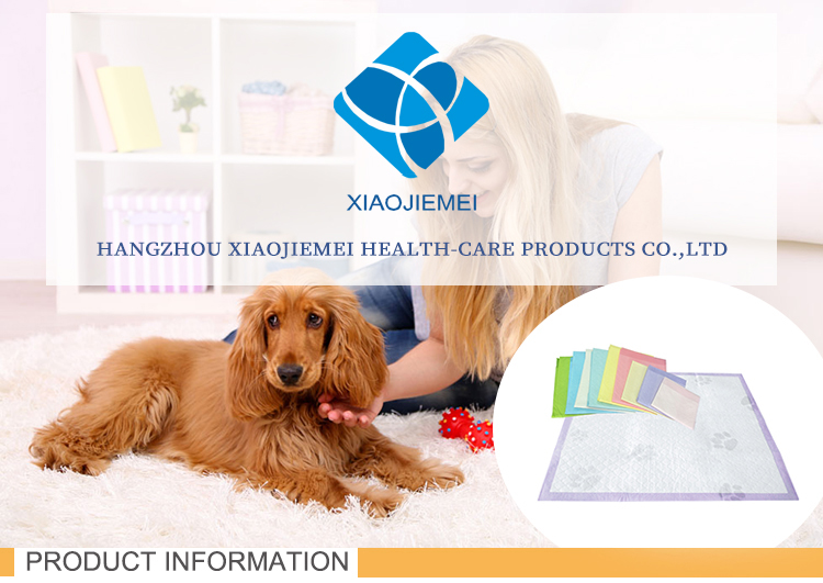 Custom design fashion design dog under pad with many colors