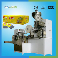 High efficiency KENO-TB700 Automatic high speed inner and outer tea bag packing machine
