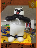 giant kungfu panda helium balloon ,flying inflatable kungfu panda, giant inflatable cartoon characters for advertising