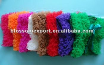 New design chiffon baby girls shawls